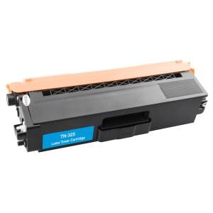 Activejet Toner cartridge / Alternatief  Brother TN-325C TN-320C Toner cartridge cyan | Brother DCP-9055DN/ DCP-9270CDN/ HL-4140CN/ HL-4150CDN/ HL-4570C