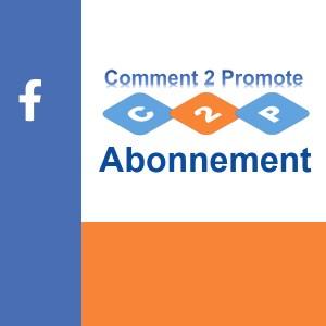 Promote Your Post Facebook abonnement