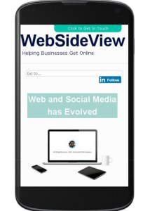 Websideview Mobile Friendly Update Test