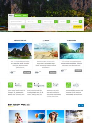 Trendy Travel WordPress Theme   Just another WordPress site