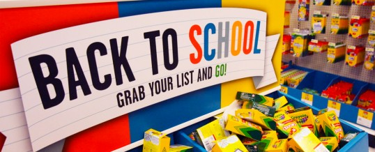 It's that time again– Get ready for Back to School & other retail graphics!