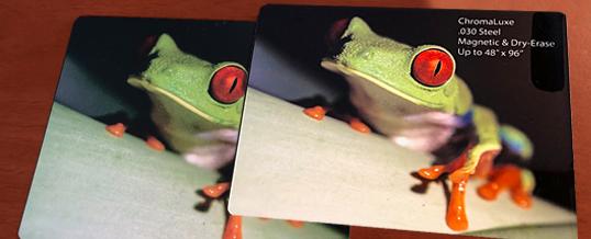 Dye Sublimation Process Creates Stunning Visual Impact