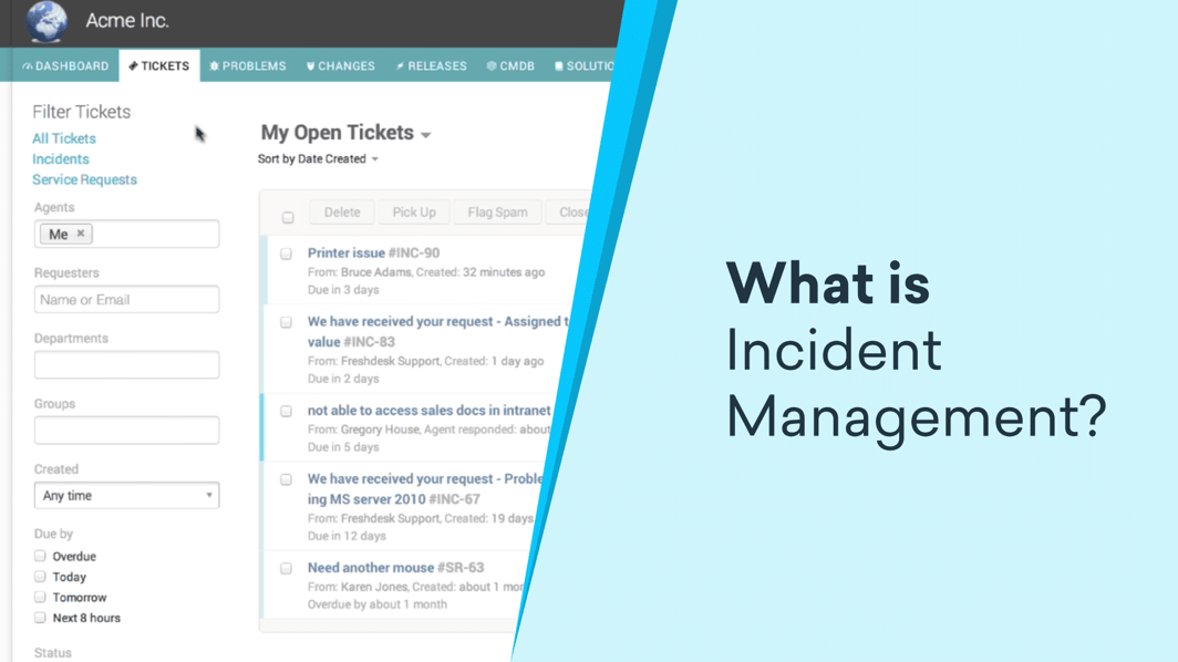 what is incident management