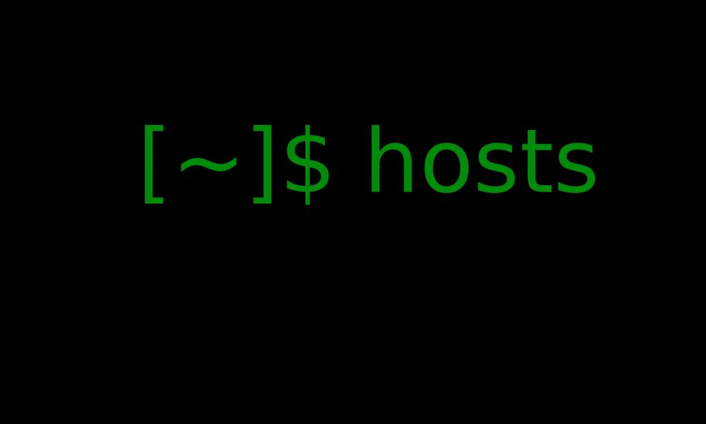 Linux'ta Host Dosyası İle Siteye Erişmek