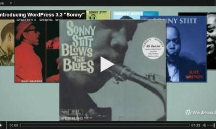 "New Version of WordPres 3.3 Named ""Sonny"""