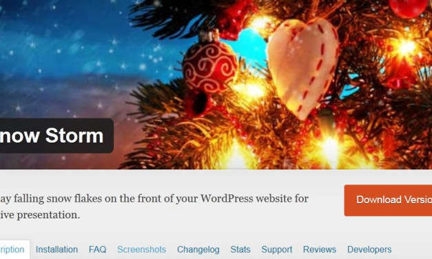 Add Holiday Snow to Your Website