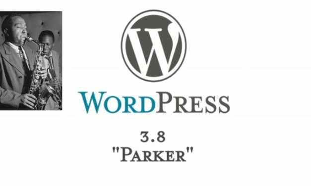 "What's New in WordPress 3.8 – ""Parker"""
