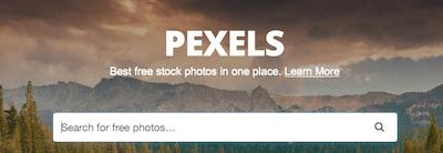 pexels - stock photo resources