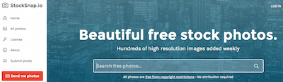 stocksnap - stock photo resources