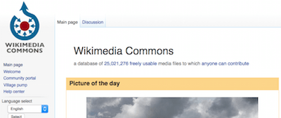 wiki-commons - stock photo resources