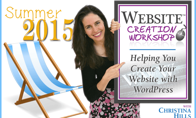 Summer 2015 Website Creation Camp is Coming!
