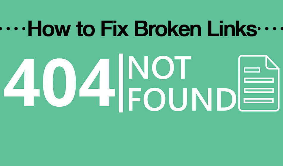 How to Fix Broken Links