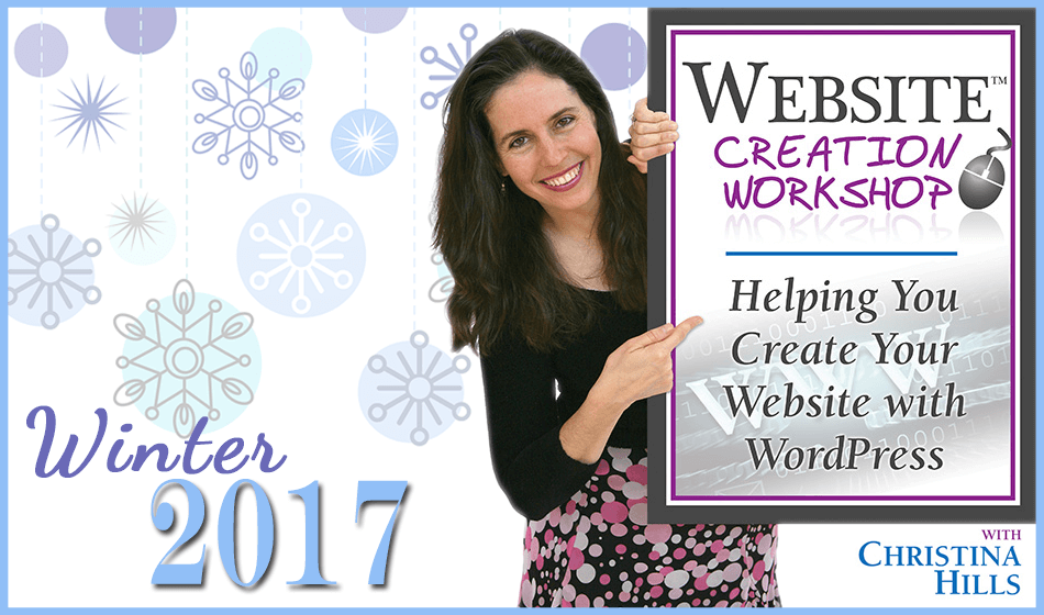 Website Creation Workshop Coming January 2017