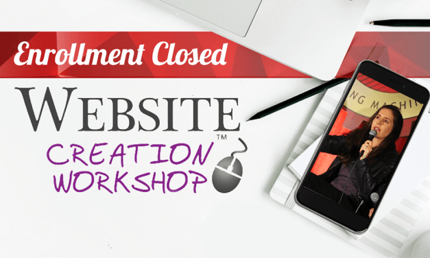 Registration is Closed for the Website Creation Workshop Winter 2018 Program