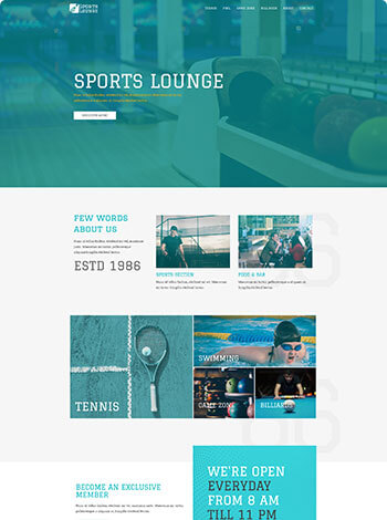 HAGER MEDIA sports-lounge-img Websites