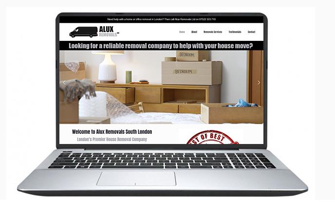 Belfast Website Design- ALUX Removals