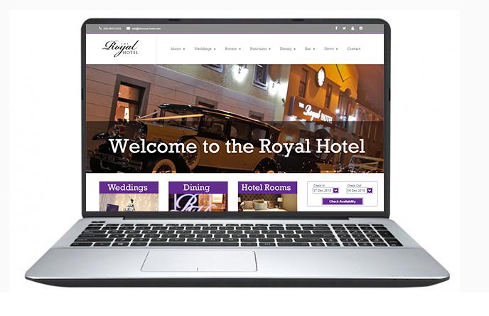 Belfast Website Design- The-Royal-Hotel