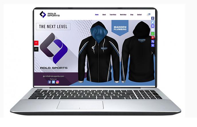 Belfast Website Design- Rolo Sports