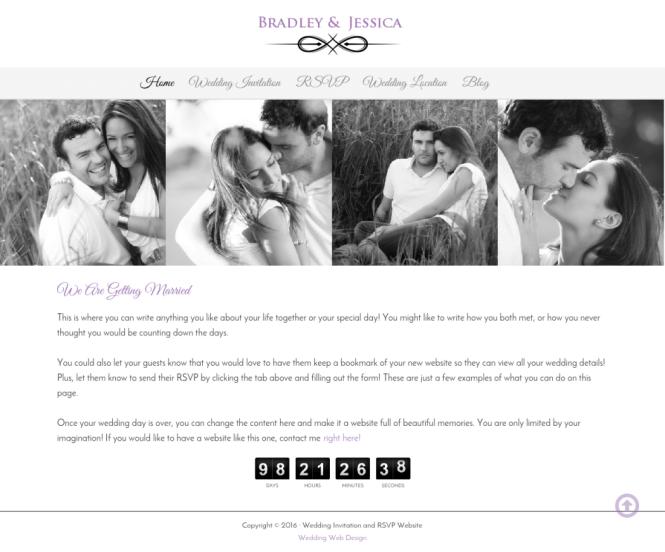 Wedding Invitation And Gallery Websites Wda Designs