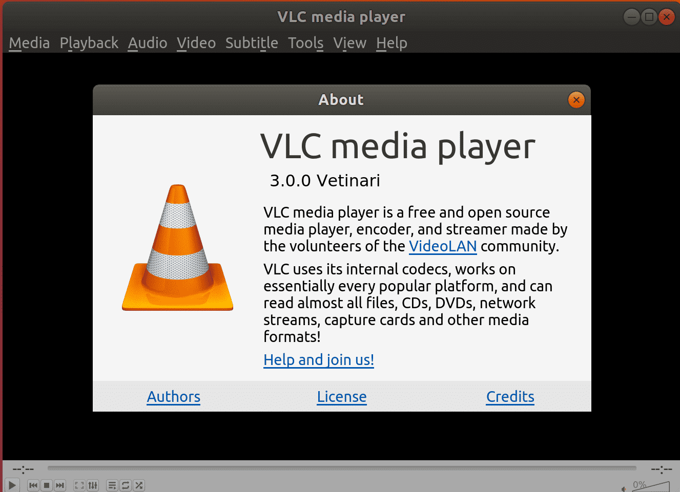 VLC POUR UBUNTU 17.04 TÉLÉCHARGER