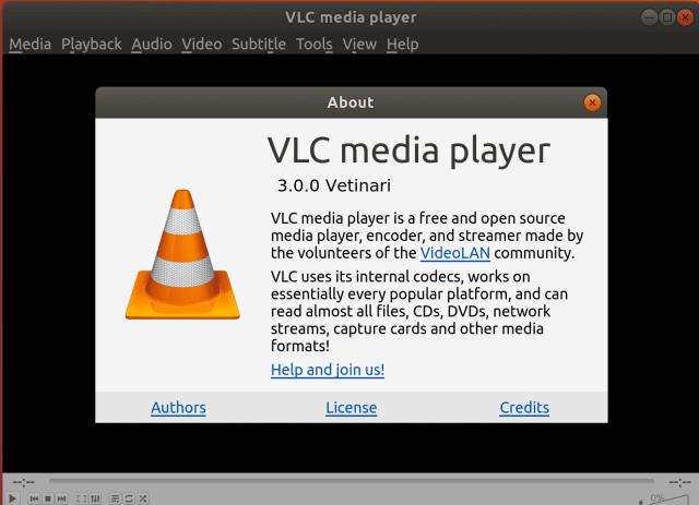 VLC ubuntu install