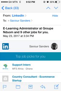 LinkedIn Job Suggestions