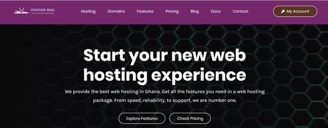 web hosting in ghana
