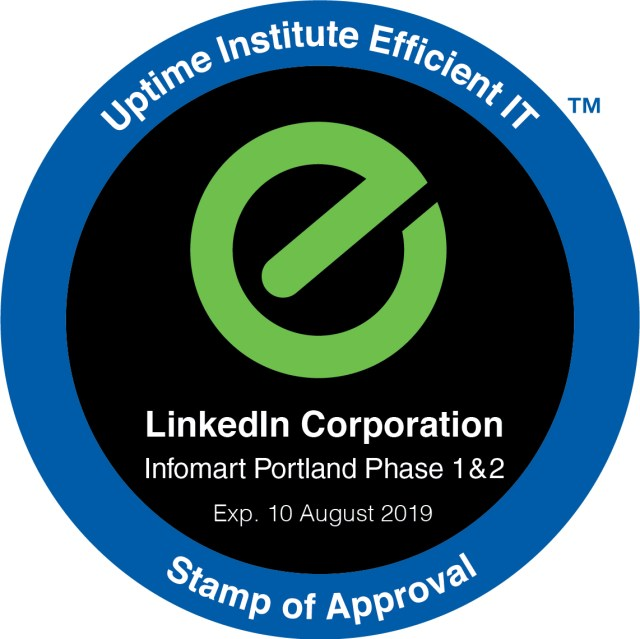 LinkedIn's Oregon Data Center Goes Live, Gains EIT Stamp of Approval