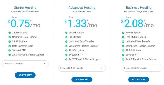 Web Hosting in India - Net4