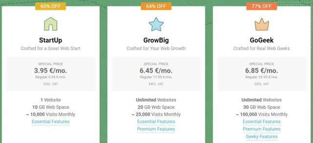 Best website hosting in the UK - SiteGround