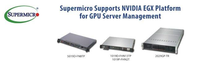 Hardware: Supermicro Servers Now Support NVIDIA EGX Platform