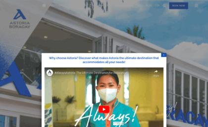 Astoriaboracay Com Website Astoria Boracay In Malay Aklan