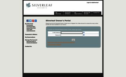 silverleaf resorts owner portal