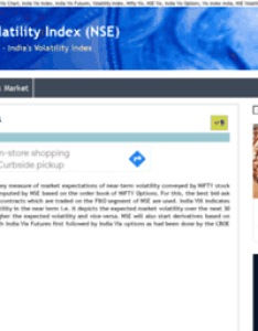 Vix also website india volatility index rh websitesonic