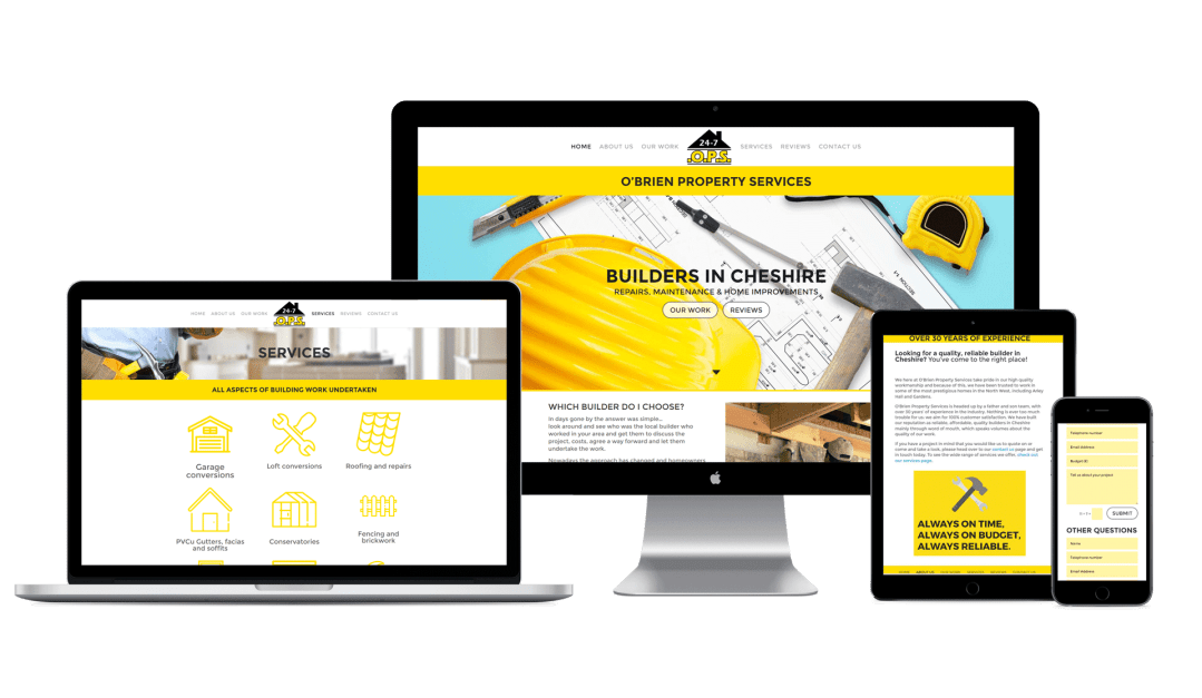 Beautiful Builder Website