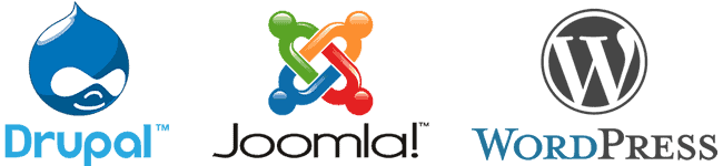 Drupal, Joomla and WordPress compared