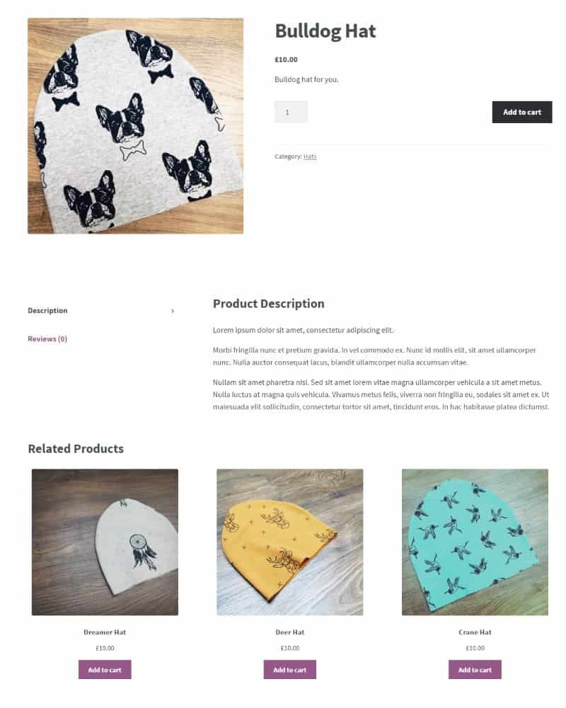 hight resolution of woocommerce products listing