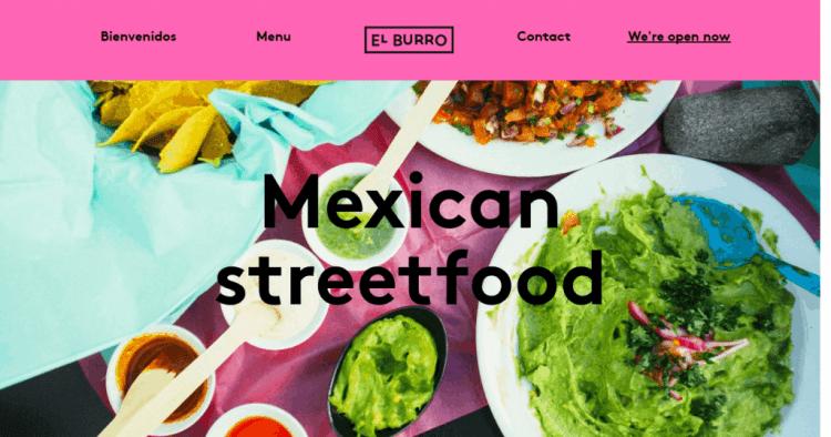 El Burro frontpage
