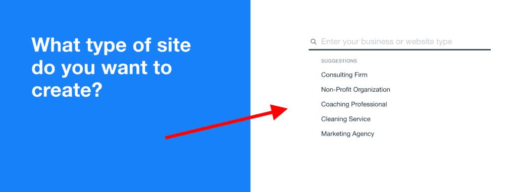 website type