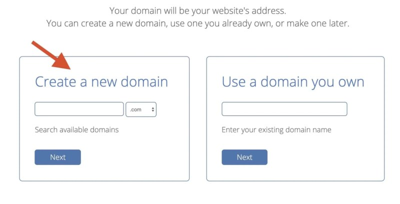 create a web page and Installing WordPress
