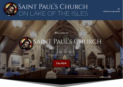 Saint Paul's Church on Lake of the Isles