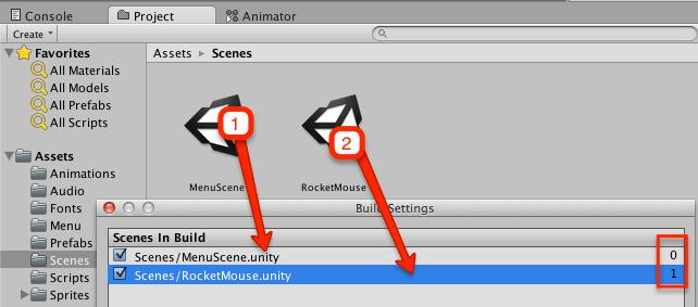 Unity3d простое меню на русском языке  Создание легкого меню