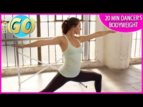 video dancer's bodyweight workout for mobile 20 minutes