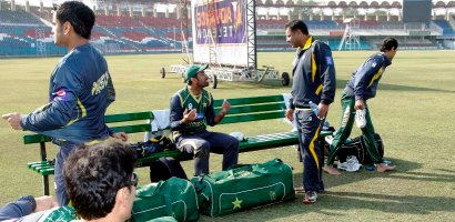 PCB ends training camp for WorldCup Cricket 2015