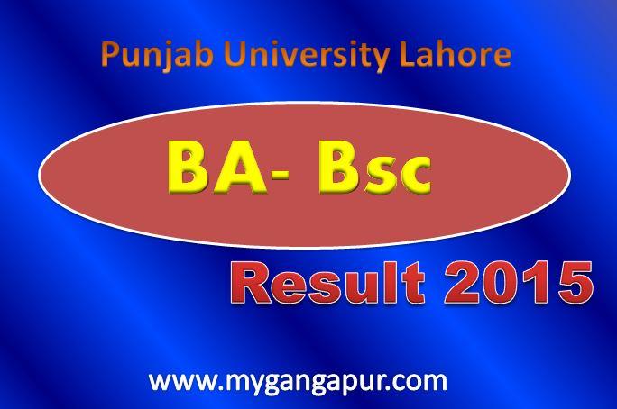 Ba result 2015 punjab university