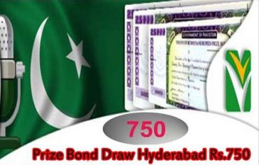 Rs 750 Prize Bond Draw Result 15 October 2015 at Hyderabad