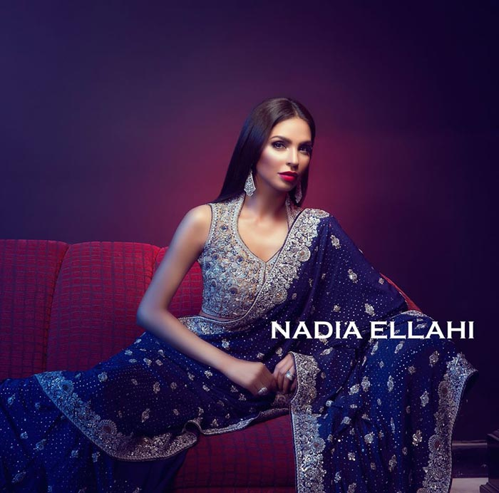 Latest Nadia Ellahi Bridal Wear 2016 For Women