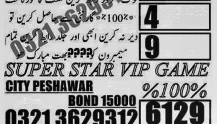Baadshah ka Game Prize bond 750 Guess Papers Rawalpindi 2018