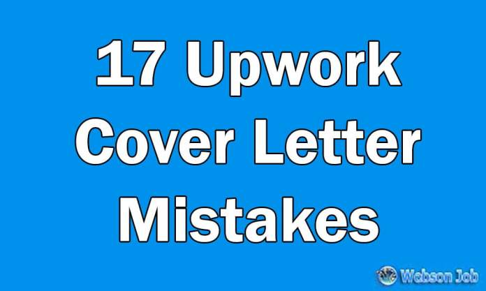 7 Upwork Proposal Mistakes To Win Jobs Resolved Webson Job