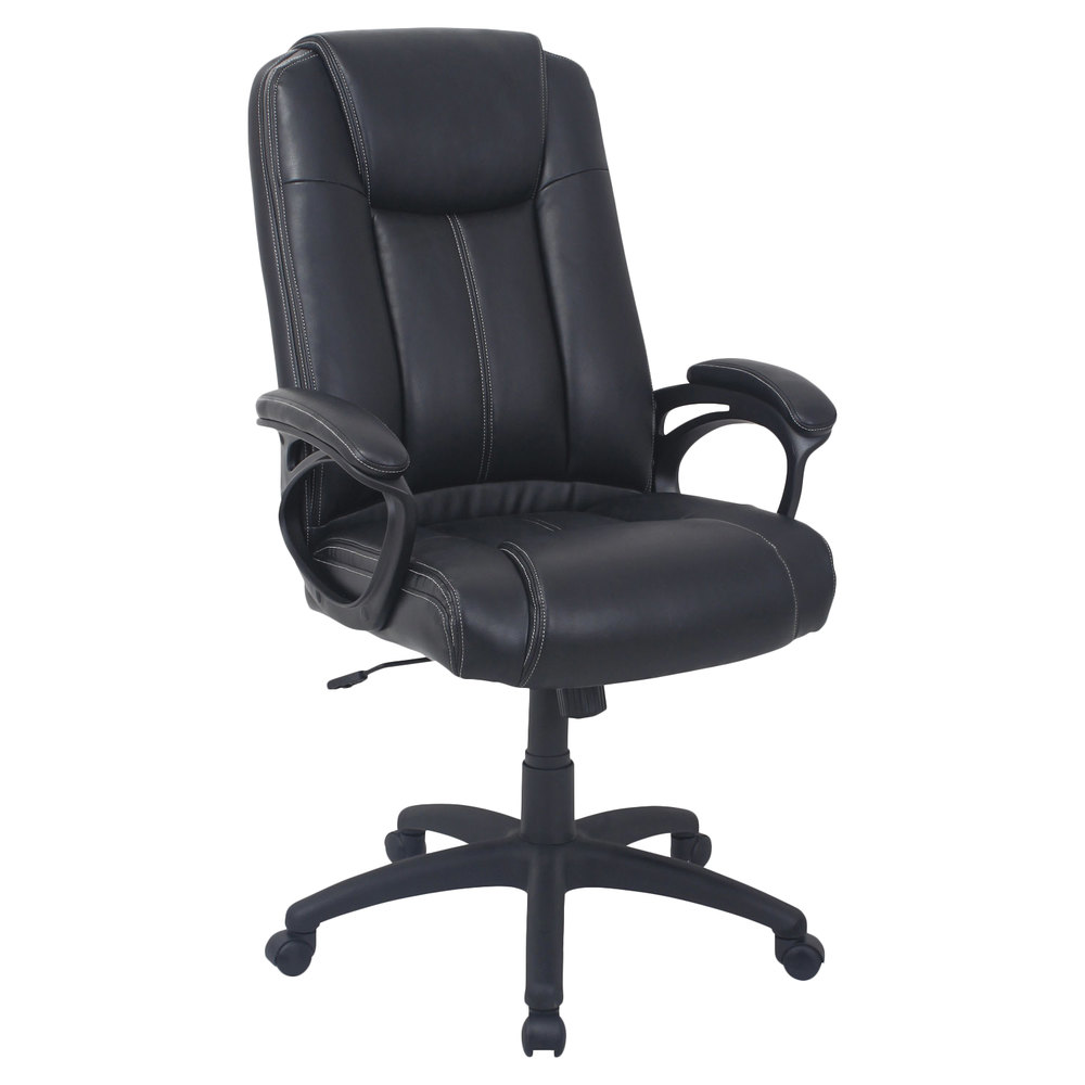 Alera Office Chairs Alera Alecc4119f Cc Series High Back Black Leather Executive Office Chair